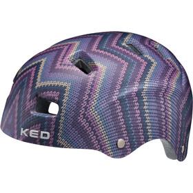 KED Risco casco per bici colorato